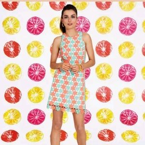 Lilly Pulitzer Pearl Truly Petal Shift Dress 8